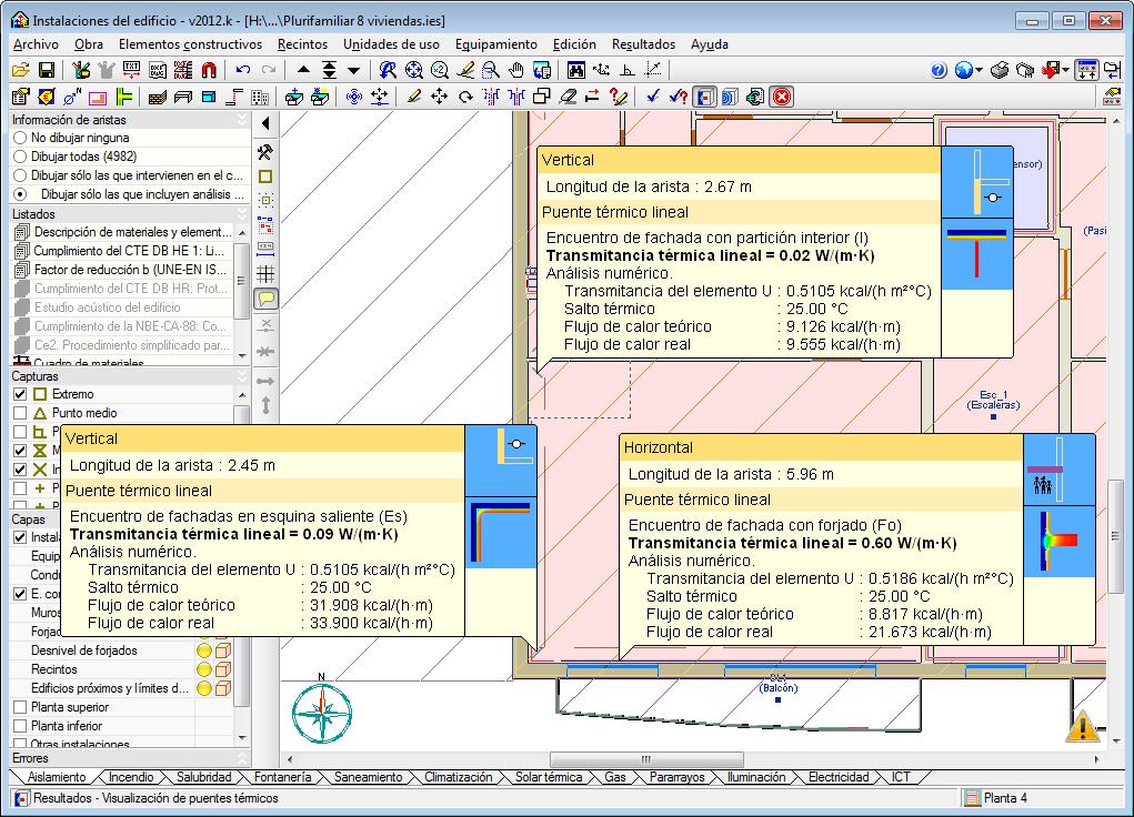 Proyecto de I+D+i. Análisis numérico de puentes térmicos lineales
